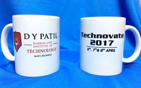 DY Patil mugs