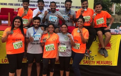 Goa fire run 2018